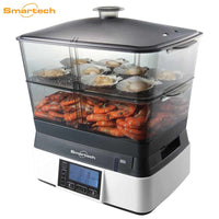 Smart LCD Food Steamer 智能LCD多功能雙發熱電蒸籠 (品牌直送) - mamaishop
