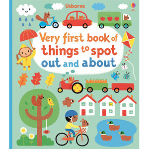 Usborne-Very first book of things to spot out and about