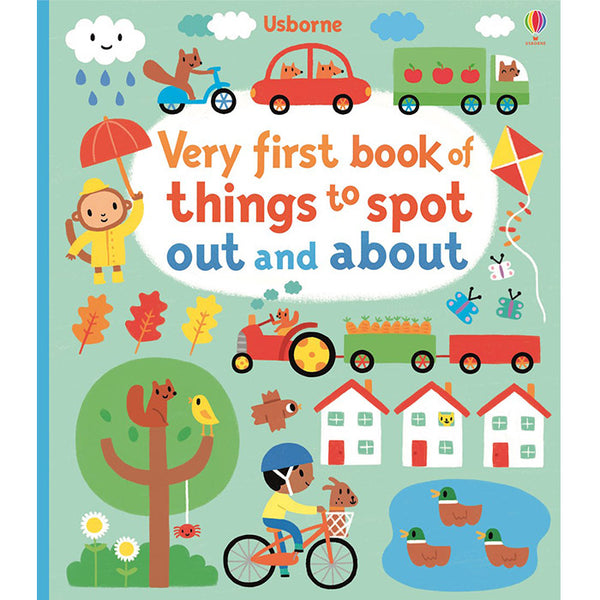 Usborne-Very first book of things to spot out and about - mamaishop