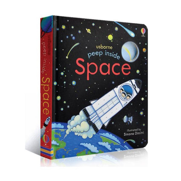 Usborne Peep Inside Space - mamaishop