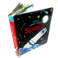 Usborne Peep Inside Space
