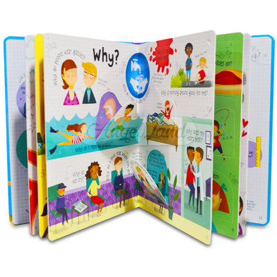 Usborne Lift-the-flap Questions and Answers Slipcase (5 books)
