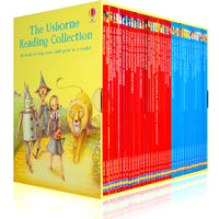 The Usborne Reading Collection – Yellow Box (Level 3) 40 Books - mamaishop