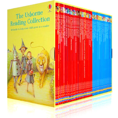 The Usborne Reading Collection – Yellow Box (Level 3) 40 Books