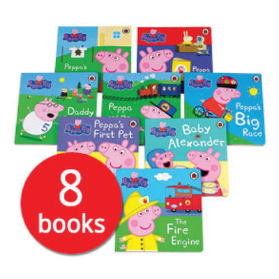 Peppa Pig collection - board book (8 books set)