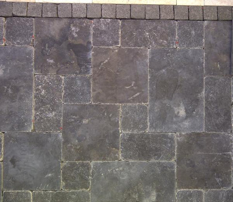 BLUESTONE PAVERS FRENCH PATTERN 30MM