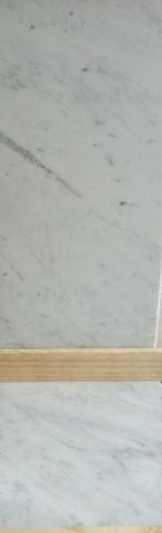 CARARA ITALIAN MARBLE HONED OR POLISHED