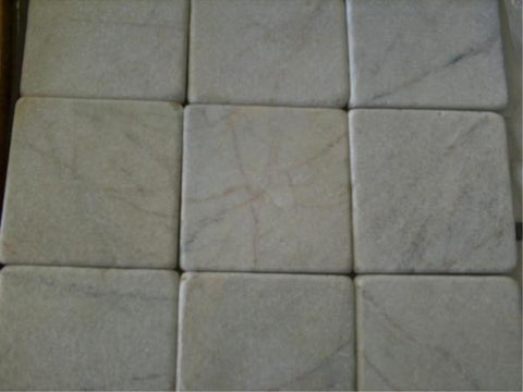 CRYSTAL WHITE MARBLE TUMBLED