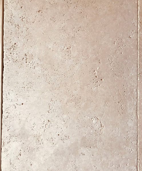 CLASSICO TRAVERTINE TUMBLED PAVERS HONED/UNFILLED
