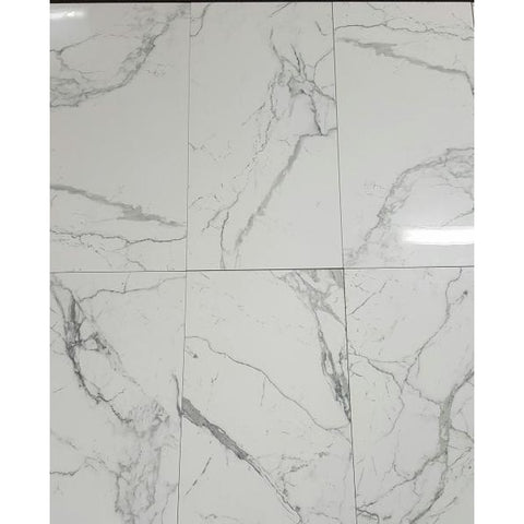 Porcelain Calcatta Classic  Marble Look Tile