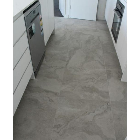 Porcelain RomanTravertine Look Tile
