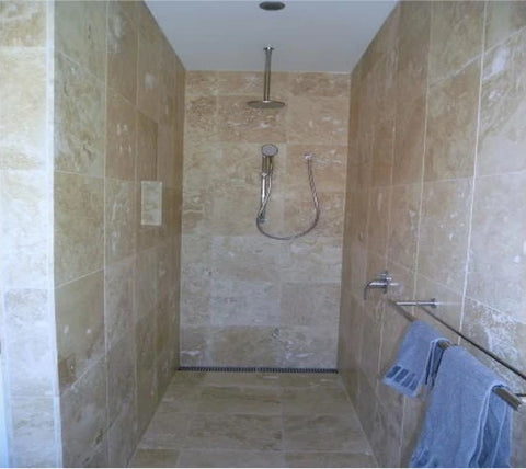 Travertine Classic Honed and Filled Tiles