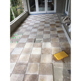 Travertine Tumbled  Persia Pavers 30mm