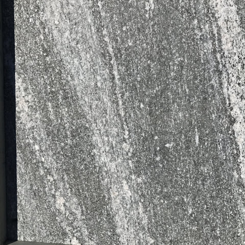 Granite Nero Fantasy Flamed - Drop Edge Pool Coping 400x400x20/80