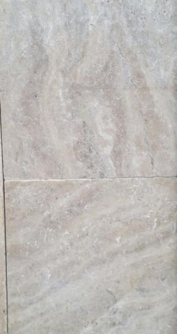 SILVER LATTE TRAVERTINE TILES