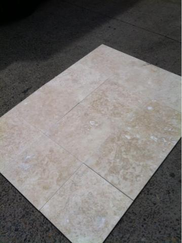 ECO LIGHT TRAVERTINE HONED/FILLED