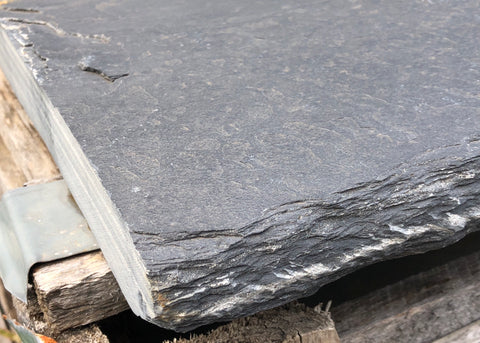 slate black wall cap 600x300x30