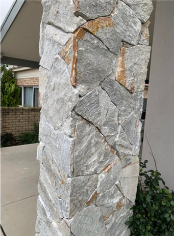 Ocean Grey Loose Stone Wall Cladding