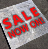 DIY Concrete Stone Pavers 400x400x40 - Pallet Lot  Sale Now On