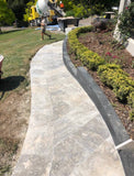 Travertine Silver Tumbled Paver