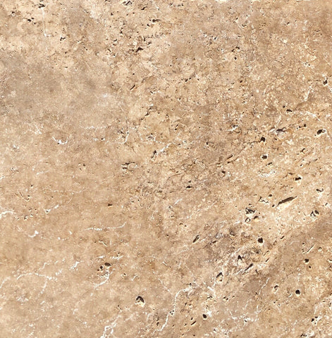 Travertine Noce Tumbled Paver 406x406x30