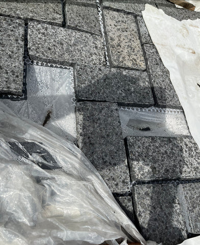 Diamond Black Original  G684 Granite Pavers 200x100x20