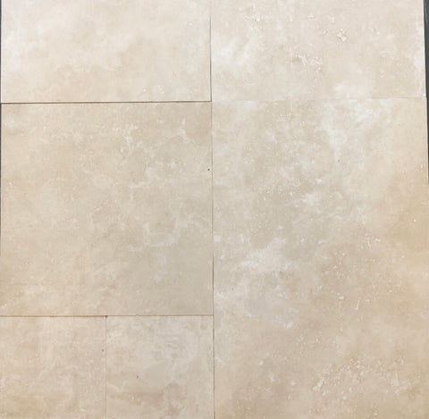 Travertine Premium French Pattern Rectified Tiles  12mm