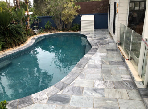 marble blue pavers  600x400x30 Tile Auctions