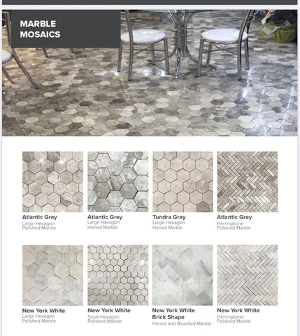 Marble Mosaics Ankara  Collection