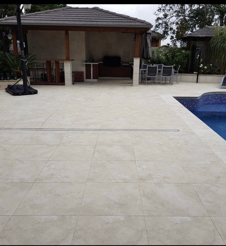 Classic Travertine Look Porcelain Tiles