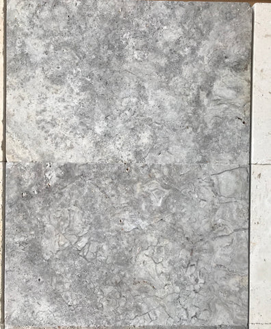 Travertine Silver Renzo 610x406x30 per m2