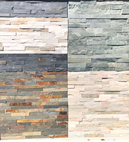syackdone slate wall cladding