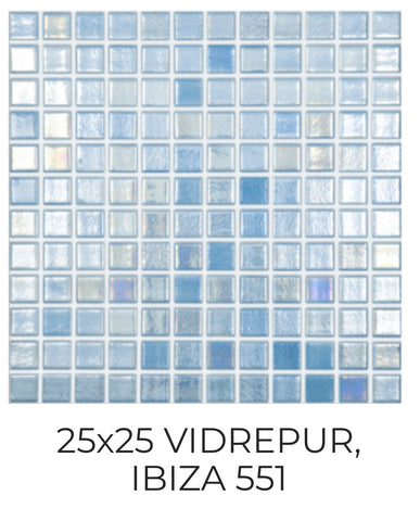 Spanish glass mosaic 551