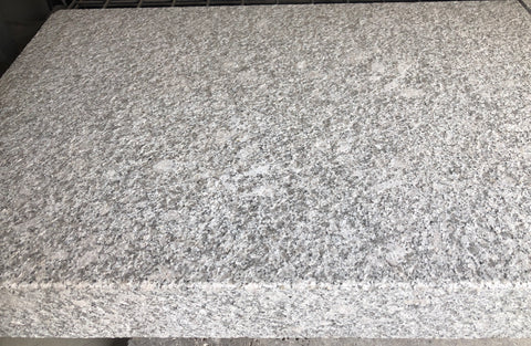 Granite Diamond white glamed drop edge coping