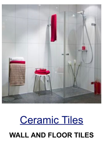 ceramic white wall tile