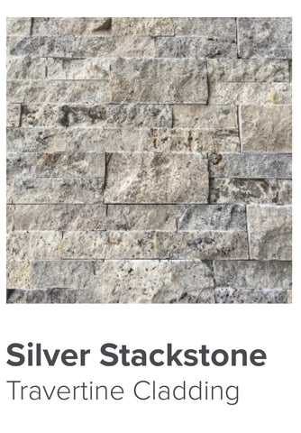 travertine siver stackstone