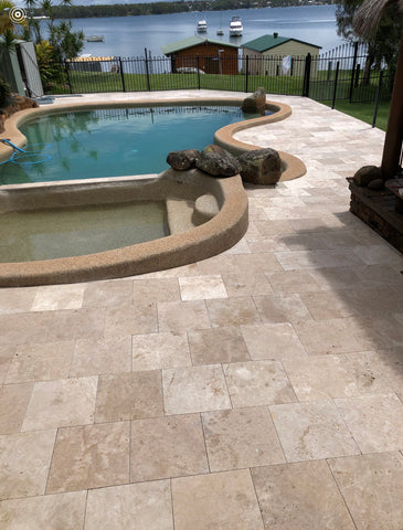 Travertine Classic Paver 406x406x30