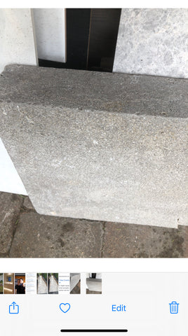 Limestone Grey Earth Drop Edge Coping 600x400x30/80 per each