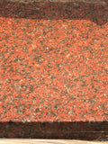 Granite  African Red polished
