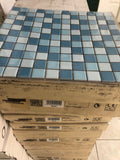 blue / white porcelain mosaic