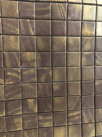 vidrepeur glass mosaic bronze gold