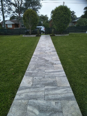 travertine silver platinum 610x406x30