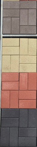 DIY Concrete Pavers 200x100x60