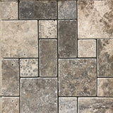 TRAVERTINE  TUMBLED MOSAIC SELECTION