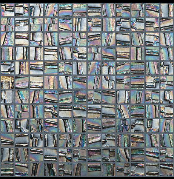metalic mosaic .Tile Auctions