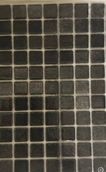 BLACK SPANISH GLASS MOSAICS  PER SHEET