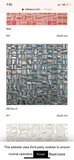 METALIC  SPANISH  GLASS MOSAIC  per  each sheet