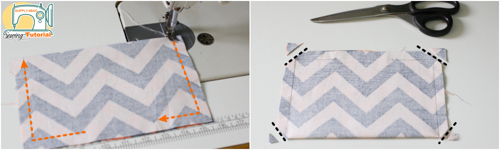 Sewing Tutorial for Slip Pocket