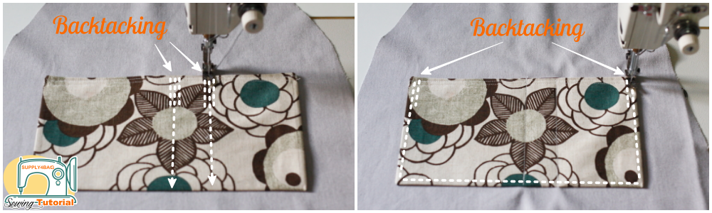free tutorial for clutch bag making