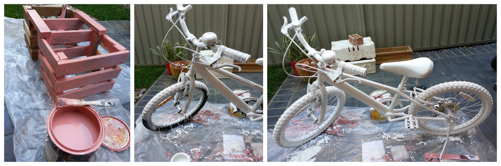from trash to treasure, bicycle garden, floral bicycle, gardening decoration, Garden DIY